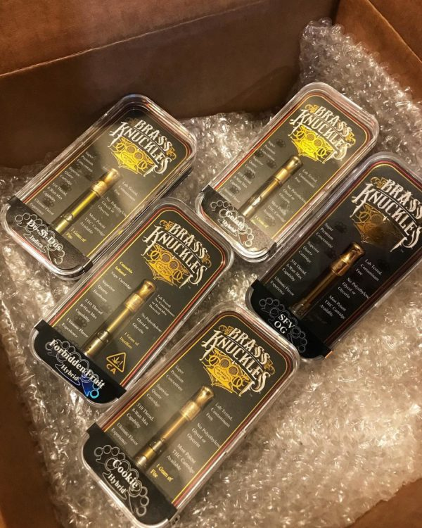 brass knuckles vape cart